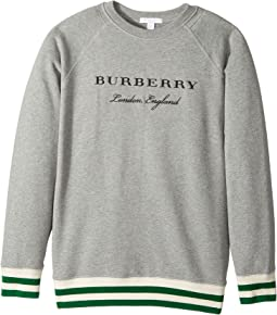 Burberry Kids - Double Rib Raglan Sweat (Little Kids/Big Kids)