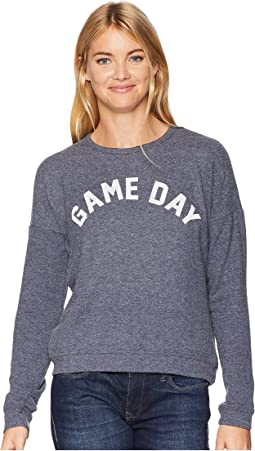 Game Day Super Soft Hacci Pullover