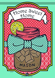 Carson Home Accents Trends Classic Garden Flag, Sweet Tea