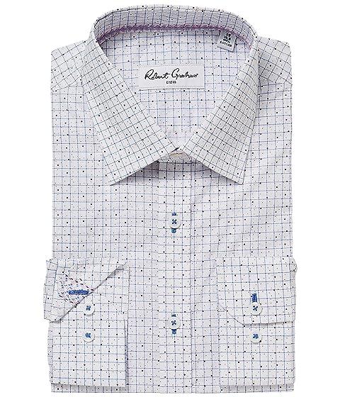 vestir Camisa Robert de Graham Werp blanca ZxqUY8CaYw