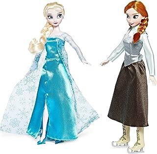 Disney Frozen Princess Elsa & Anna Ice Skating Doll Set