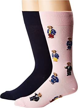 Assorted Bears 2-Pack Socks