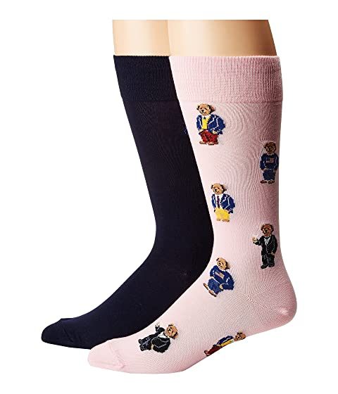 Lauren Assorted Ralph Polo 2 Bears Pack Socks qH54Opn