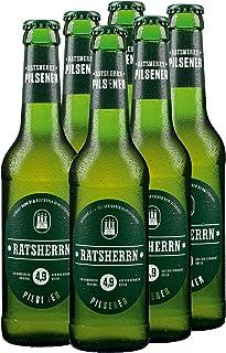Ratsherrn - Pilsener Sixer Bier Craft Beer 4,9% Vol. - 6x0,33l inkl. Pfand