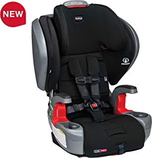 Britax Grow with You ClickTight Plus Harness-2-Booster Car Seat - 3 Layer Impact Protection - 25 to 120 pounds, Jet Safewash Fabric
