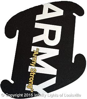 Army Print Pattern Medium Infinity Lights, Puzzle Lights, IQ Lights, LuvaLamps, Jigsaw Lamps, ZE Lights 30 Piece Pack USA