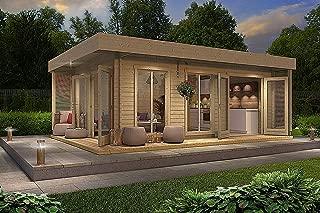 Allwood Bonaire   225 SQF resort styled Cabin Kit