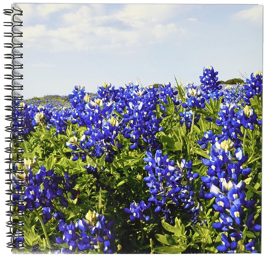 3dRose db_94452_1 Bluebonnets, Freyburg, Texas-US44 FVI0010-Franklin Viola-Drawing Book, 8 by 8-Inch