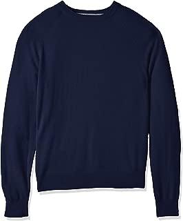 Buttoned Down Men's 100% Cashmere Crewneck Sweater