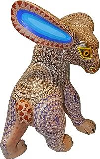 Aldo Hernandez Melchor Genuine Oaxacan Wood Carving (Alebrijes) - Fusion - Fine Mexican Folk Art
