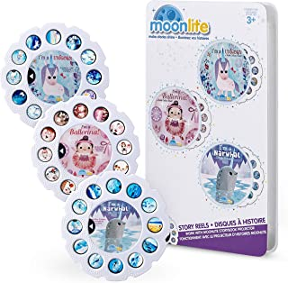 Moonlite, 3-Story Bundle for Girls, Includes 3 Story Reels for Use with Storybook Projector