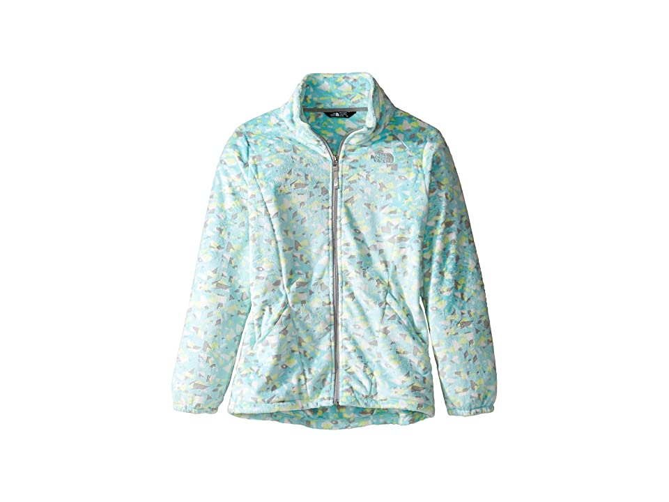 The North Face Kids Osolita 2 Jacket (Little Kids/Big Kids) (Breeze Blue Confetti Burnout Print (Prior Season)) Girl