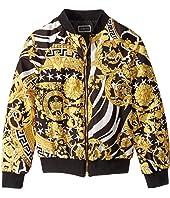Versace Kids - Nylon Bomber Jacket with Barocco Print (Big Kids)