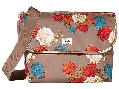 Herschel Supply Co. Grade (Vintage Floral Pine Bark) Messenger Bags