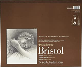24 Sheets 580-42 Strathmore 500 Series Sequential Art Bristol 2-Ply Vellum Surface