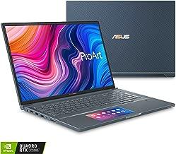 "Asus ProArt Studiobook Pro X Mobile Workstation Laptop, 17"" Wuxga Narrow Bezel, Intel Xeon E-2276M, 64GB ECC DDR4, 4TB PCIe SSD, NVIDIA Quadro RTX 5000, Windows 10 Pro, W730G5T-XS99, Turquoise Gray"