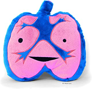 LOUD LUNGS Designer Plush Figure - I Lung Rock n' Roll! from the I Heart Guts Series
