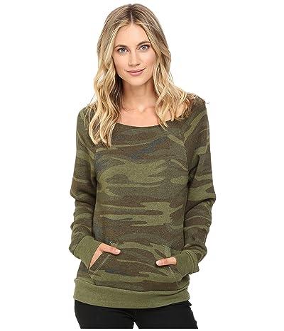 Alternative Maniac Printed Fleece Sweatshirt (Camo) Women