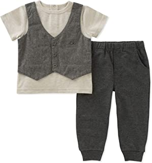 Calvin Klein Baby Boys 2 Pieces Pant Set