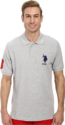 Solid Pique Polo