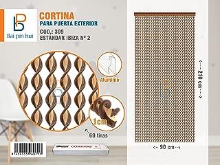BAI PIN HUI (COD.309) Cortina para puerta exterior, Modelo