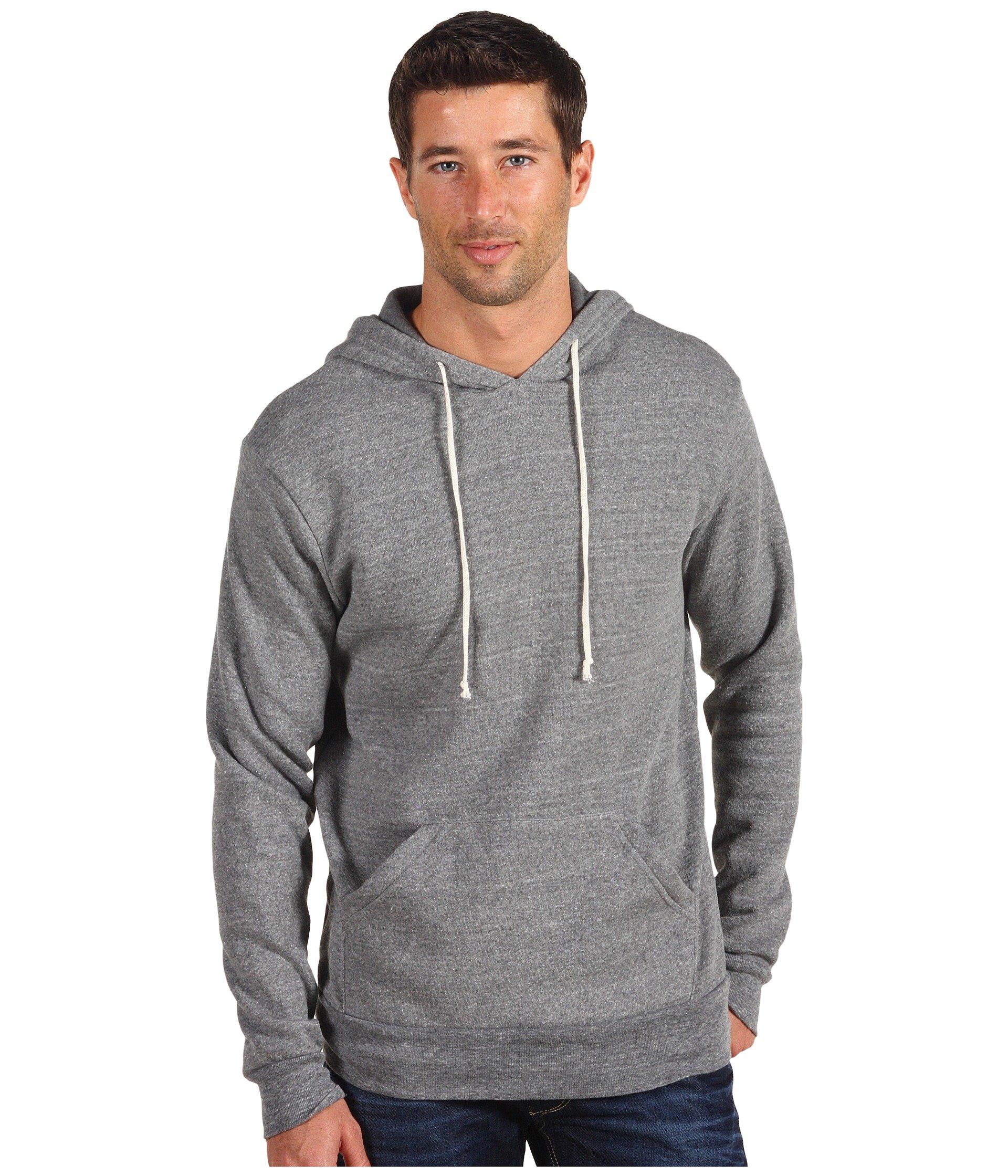 Alternative Grey Eco Hoodie Challenger Pullover r4xw8rqnUO