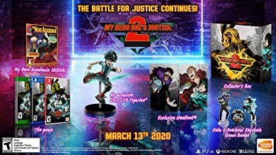 $129 » MY HERO ONE'S JUSTICE 2: Collector's Edition - Nintendo Switch