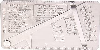 HFS (R Pipe Pit Welding Gauge gage Test Ulnar Welder Inspection