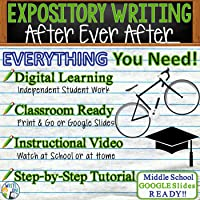 Text Analysis Expository Writing for After Ever After | Distance Learning, In Class, Independent Student Instruction,...