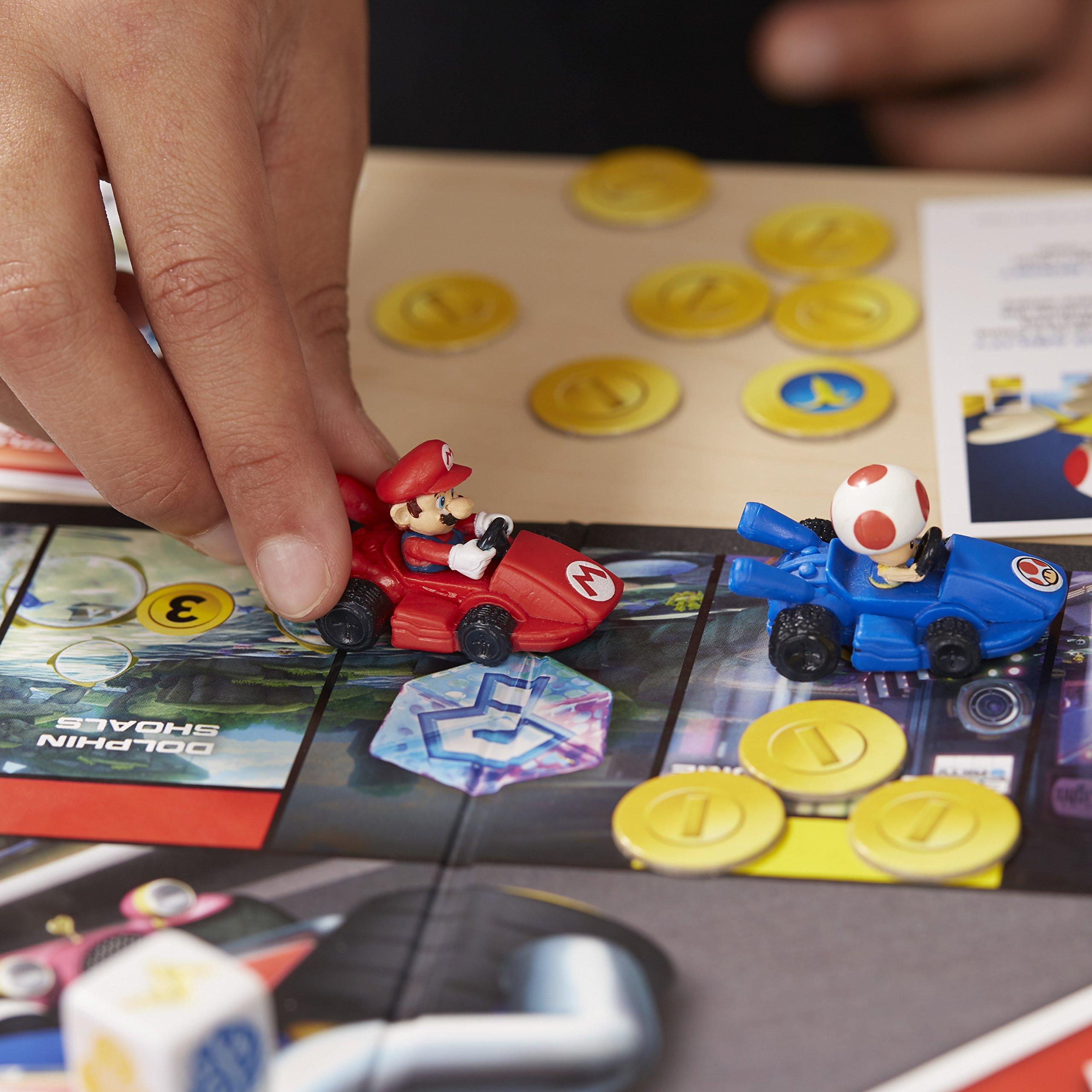 Hasbro Monopoly Gamer Mario Kart Simulación económica Niños y Adultos - Juego de Tablero (Simulación económica, Niños y Adultos, Niño/niña, 8 año(s), 32 Pieza(s), Caja): Amazon.es: Juguetes y juegos