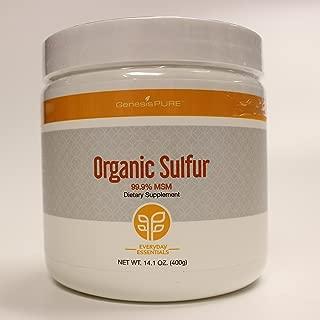 Genesis Pure Organic Sulfur Dietary Supplement 14.1 oz.(400g)