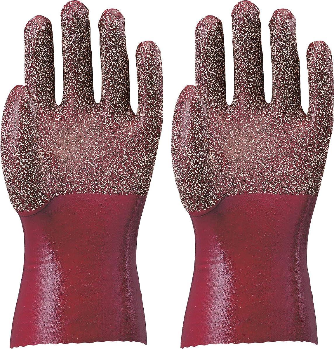 ATOM 裏生地付手袋 天然ゴム作業手袋 Mサイズ 1211