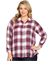 Lucky Brand - Plus Size Button Side Body