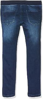 MEK Pantalone Jog Denim con Coulisse Jeans para Niños