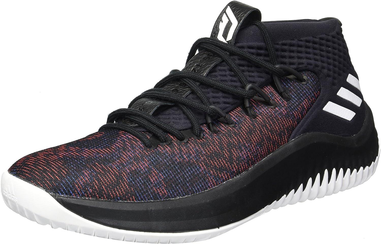 Adidas Dame 4 schuhe Men's Basketball 11 M US Core schwarz-Weiß