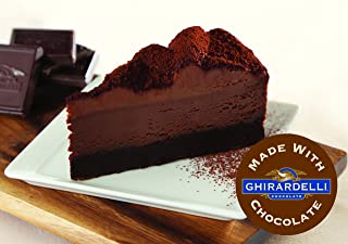 Elis Cheesecake DOUBLE CHOCOLATE Cheesecake made with Ghirardelli
