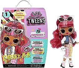L.O.L. Surprise! 576709EUC LOL Tweens UNbox 15 Surprises-Includes Fashions, Accessories, Hairbrush, Hanger, Doll Stand & M...