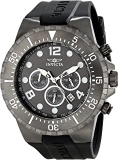 Invicta Mens 16750 SPECIALTY Analog Display Japanese Quartz Black Watch
