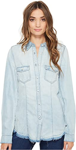 Denim Shirt in Rehab Run