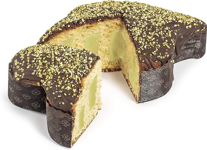 Colomba pasquale con crema pistacchio, dolce pasquale artigianale di fraccaro spumadoro B0847C76TG
