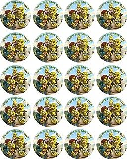 SHREK - Edible Cupcake Toppers - 1.8