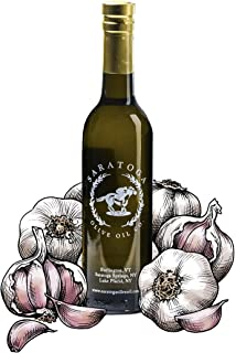 Saratoga Olive Oil Company Garlic Infused Olive Oil 200ml (6.8oz)