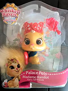 PALACE PETS New Spring 2018: Disney's Madame Hamilot Furry Tail Friend - with Pet Brush & Tiara Toy-Figures
