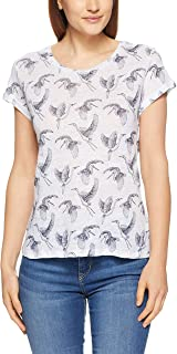 French Connection Women's Sketched Pelican, Summer White/Nocturn