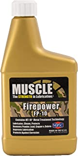 Muscle Firepower FP-10, 16 Fluid Ounces, Gun Lube, Lubricates Cleans and Protects