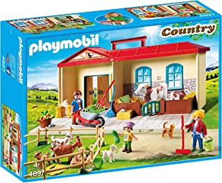 comprar comparacion Playmobil Granja- Maletín, única (4897)