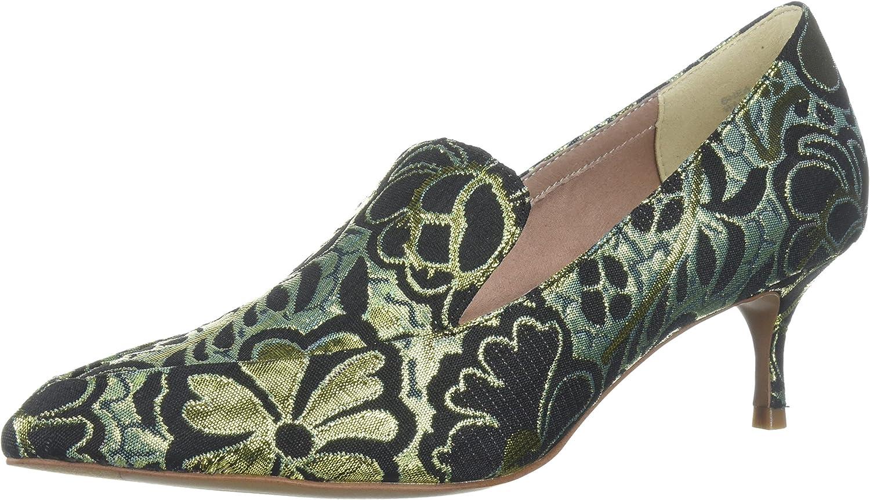 Kenneth Cole ny York kvinnor Shea Pointy Toe Kitten Heeled Heeled Heeled Loafer Pump  global distribution