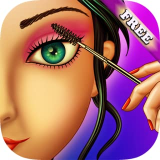 Eye Makeup Beauty Salon for Girls : makeover game for girl and kids ! Educational make up games - FREE