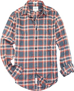 American Eagle Men's Seriously Soft Button Down Print Shirt (X-Small, 9971-008)