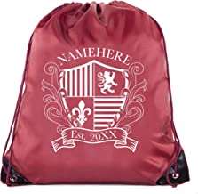 Family Crest Custom name and Date -Family Reunion Party Favor Bags
